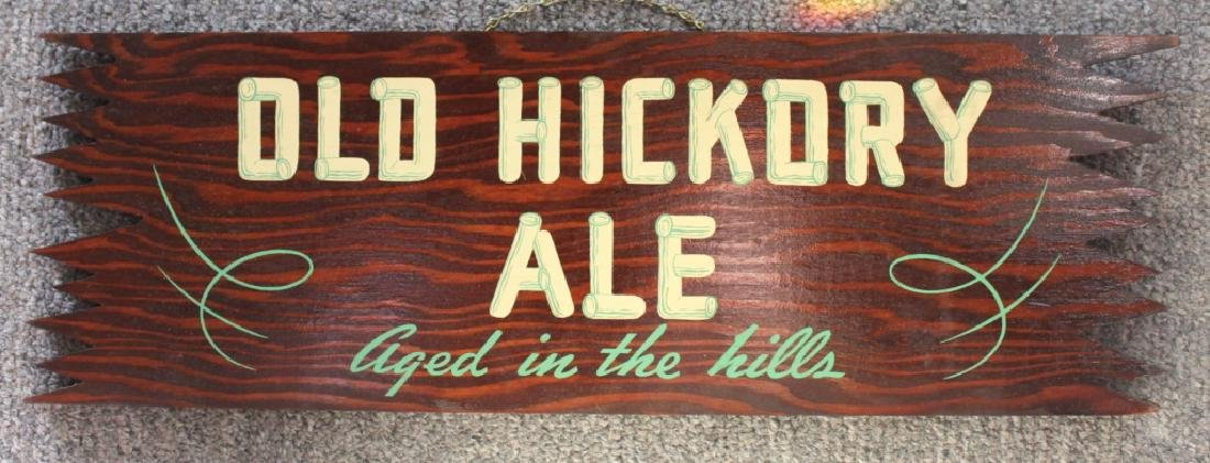 Old Hickory Ale - Sign