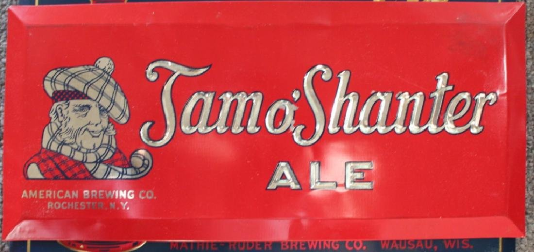 Tam O' Shanter Ale Sign