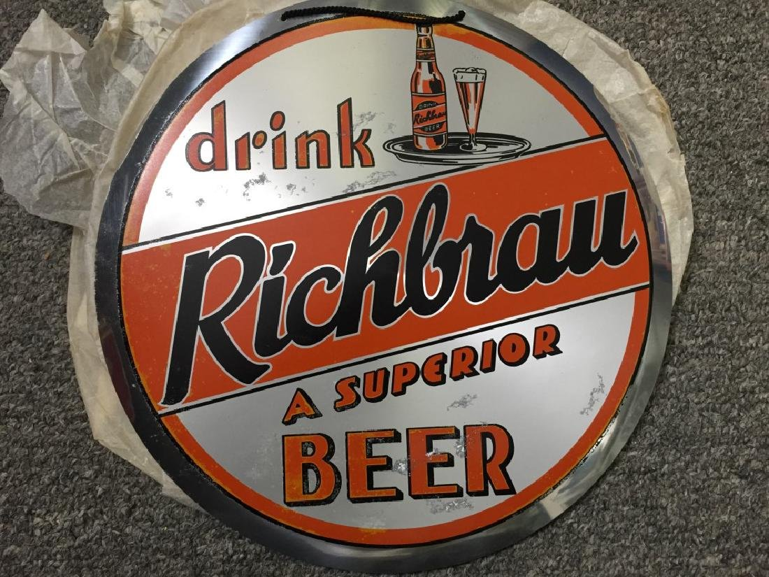 Drink Richbrau Beer Sign