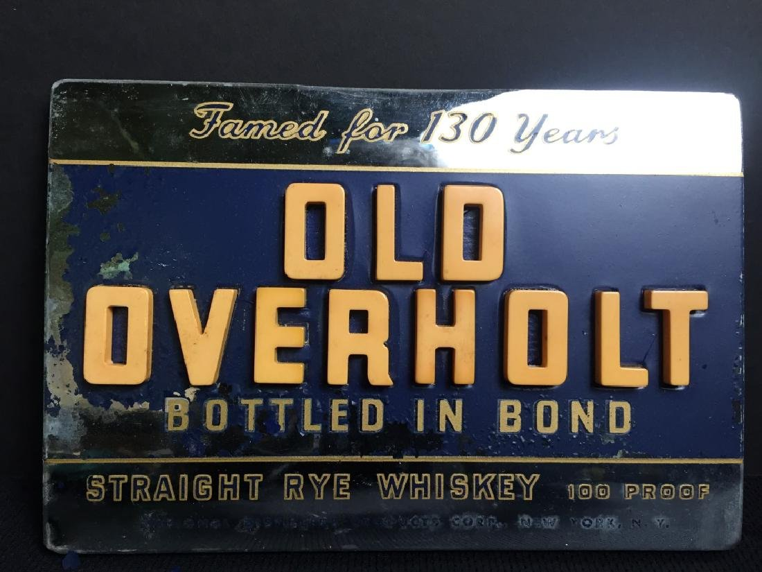 Old Overhold Beer - Sign