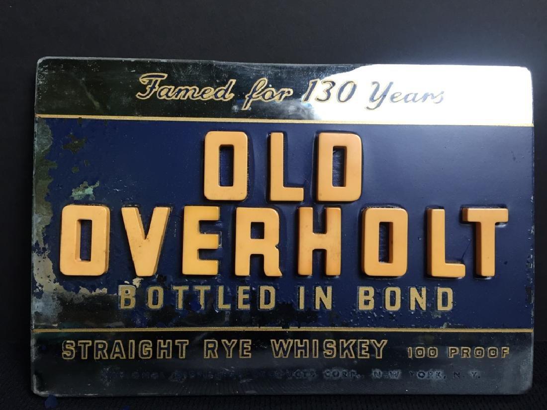 Old Overhold Beer - Sign