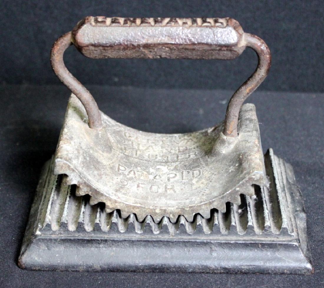 Antique Cast Iron Fluter, Geneva, Ill