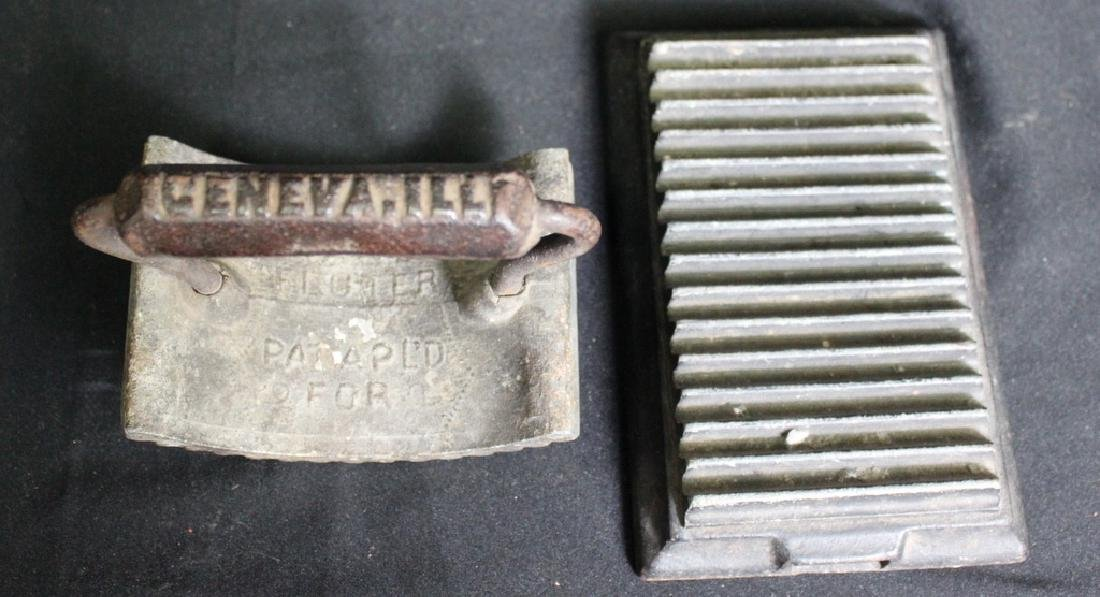 Antique Cast Iron Fluter, Geneva, Ill - 3