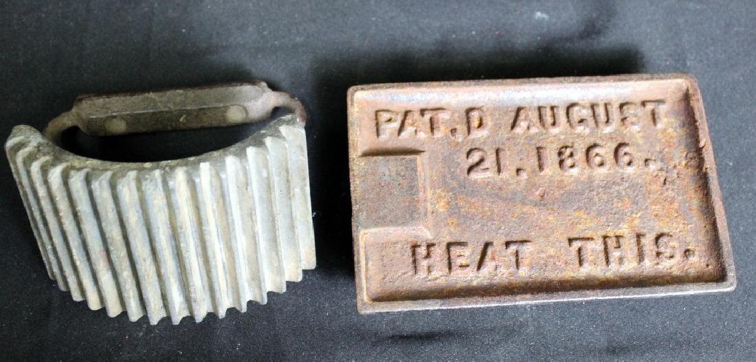 Antique Cast Iron Fluter, Geneva, Ill - 4