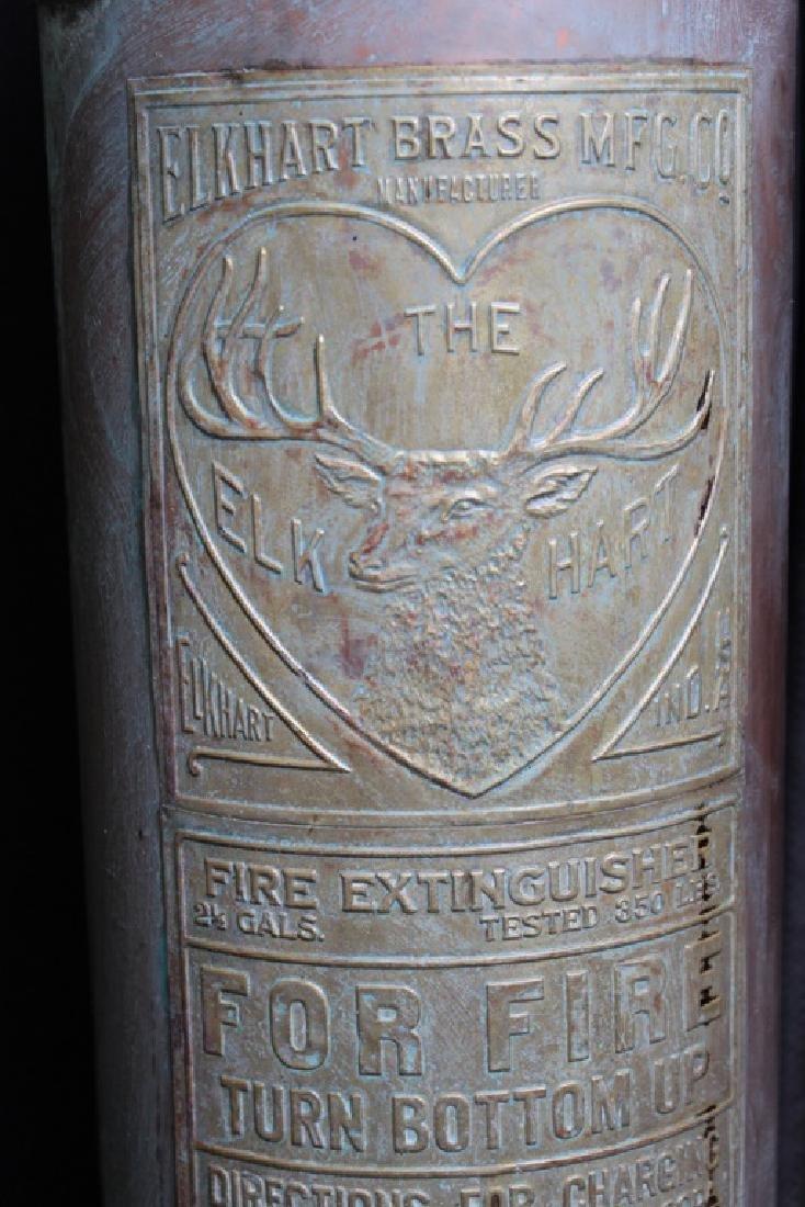 Antique Copper Fire Extinguisher - 3