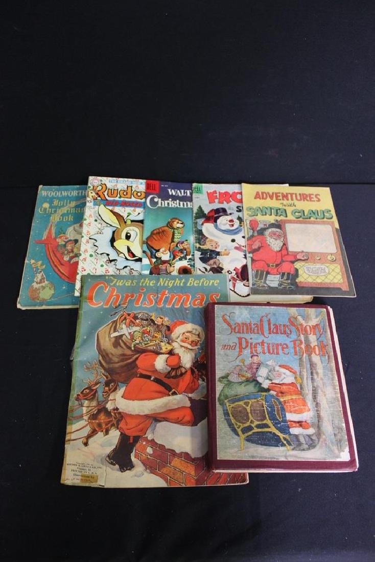 7 Vintage Christmas Books