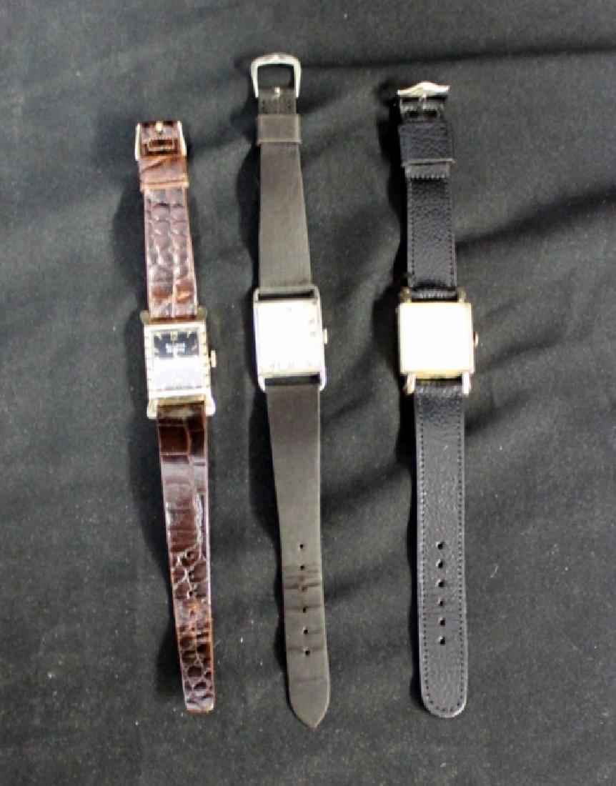 3 Vintage Men's Watches