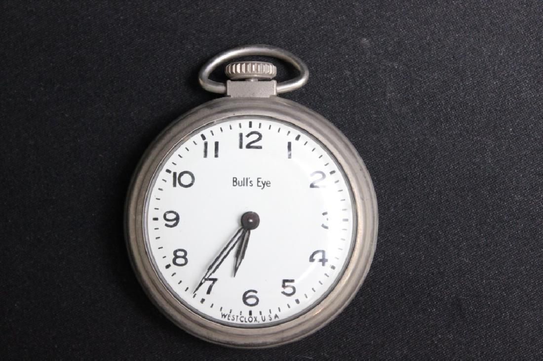 Bulls Eye Pocket Watch by Westclock - Vintage