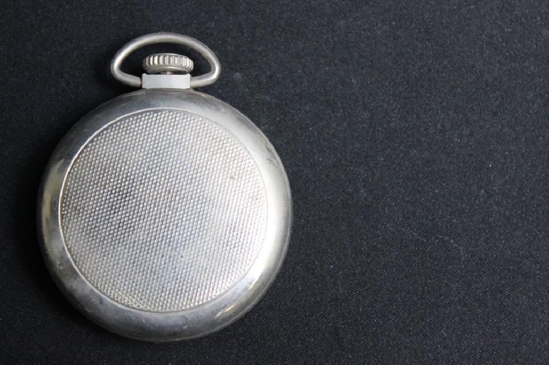 Bulls Eye Pocket Watch by Westclock - Vintage - 2
