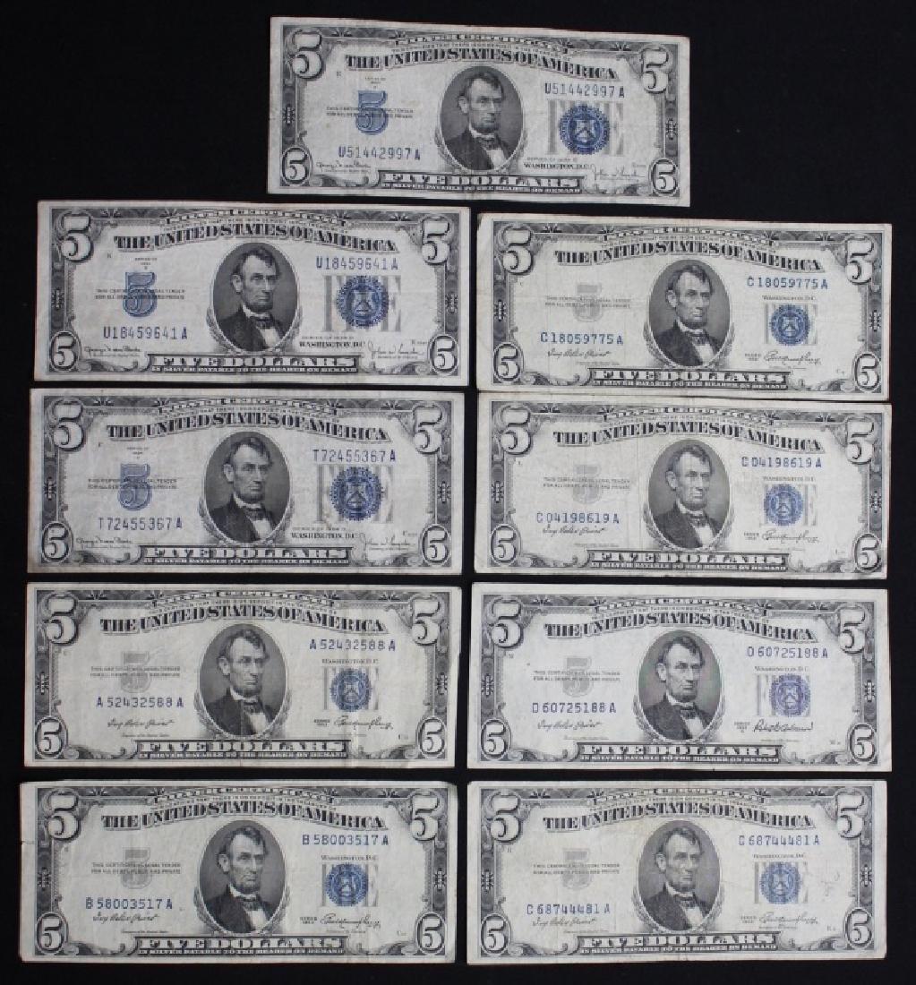 $5 Silver Certificates