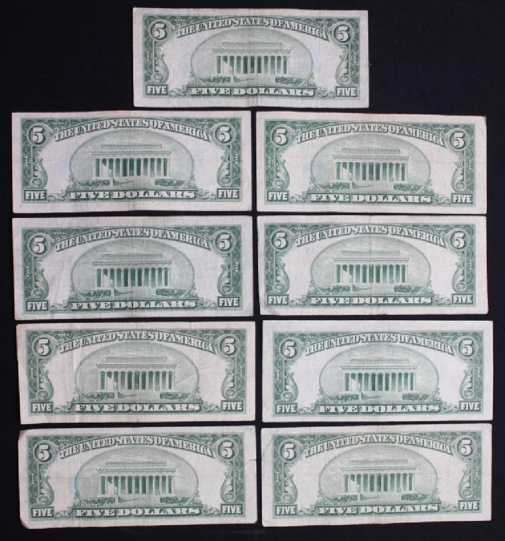 $5 Silver Certificates - 2