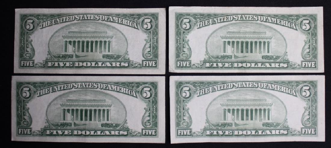$5 Silver Certificates - 2