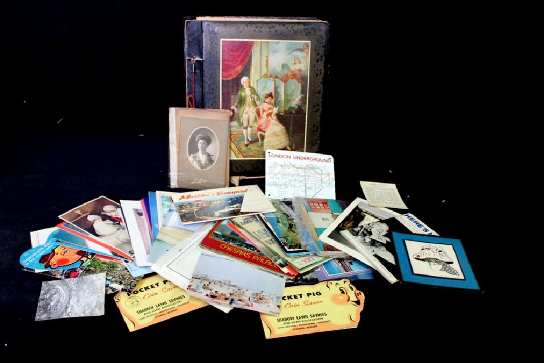 1937 Scrapbook w/ Photos, etc.