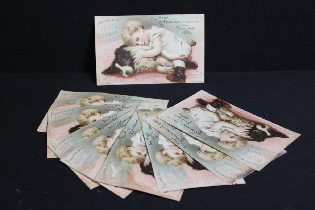 Hoyt's German Cologne Victorian Trade Cards (10)