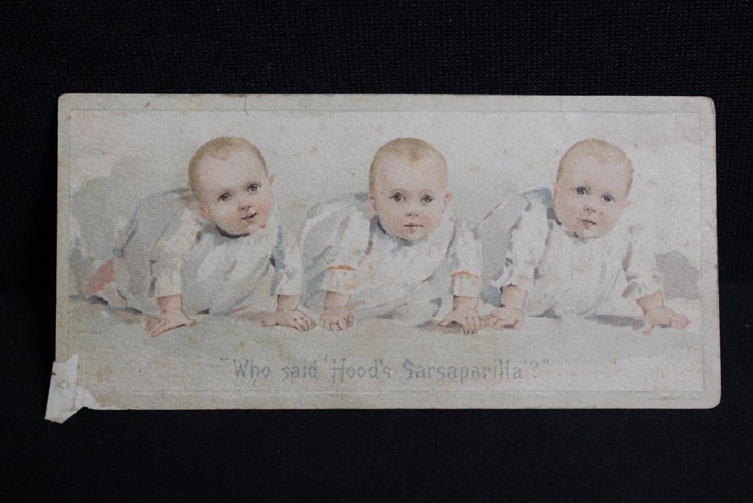 Hood's Sarsaparilla Victorian Trade Card