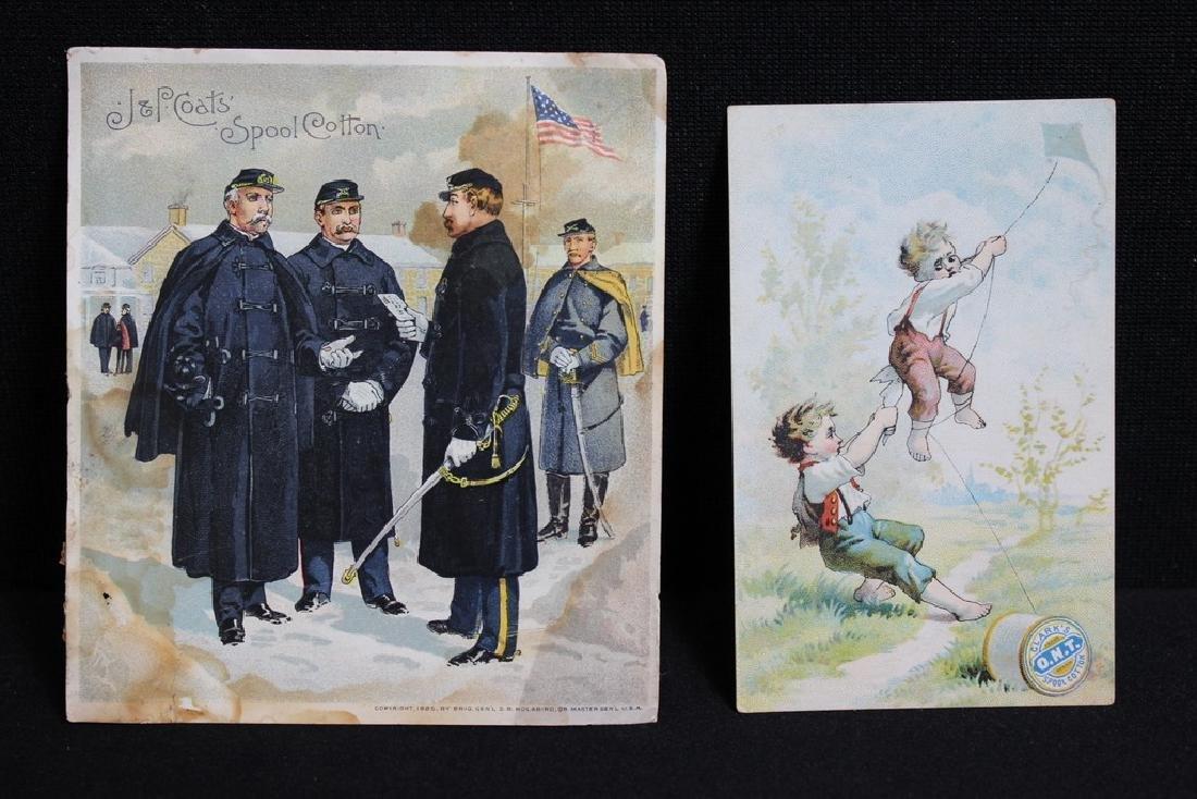 Victorian Trade Cards - Cotton Thread