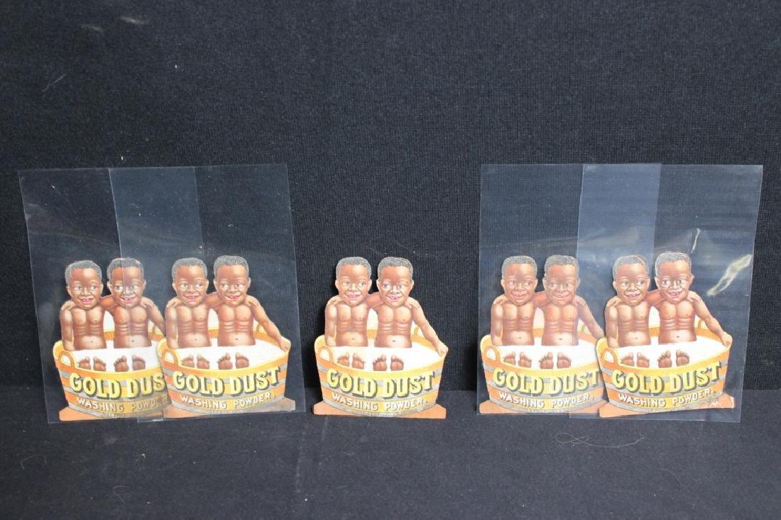 Gold Dust Washing Powder Trade Cards Black Americ
