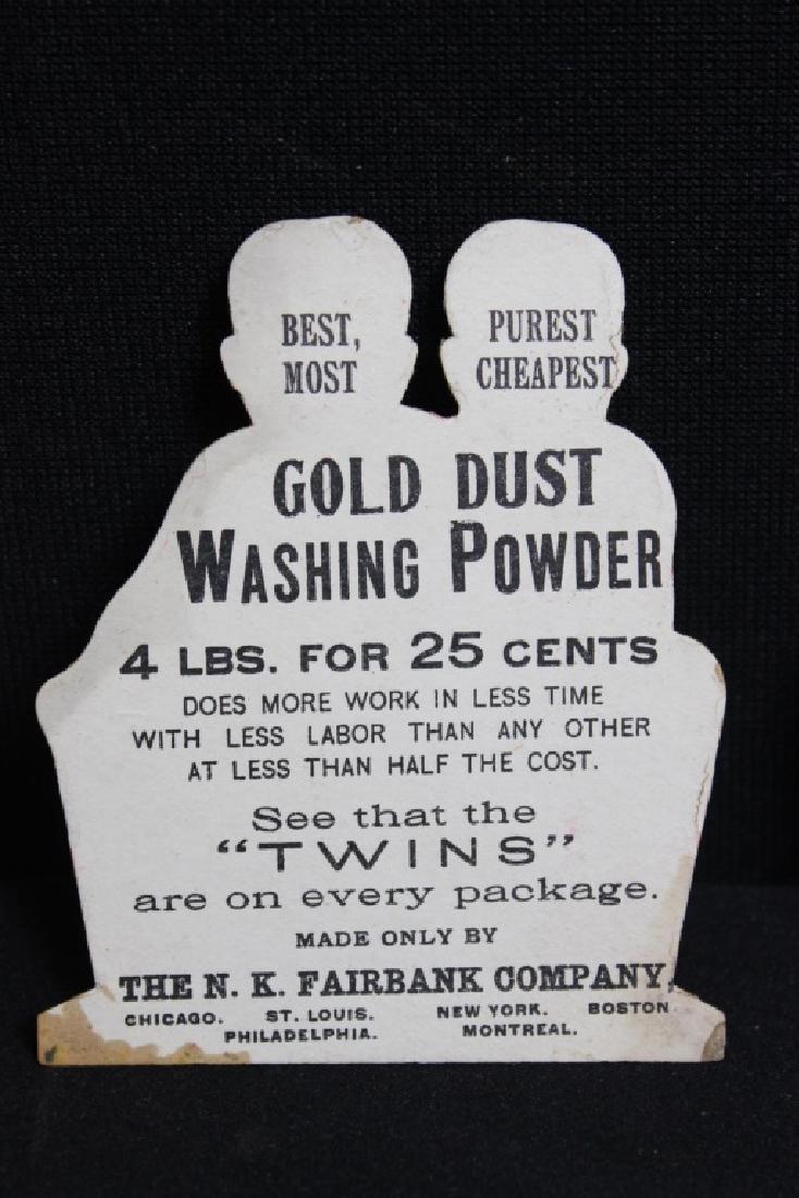 Gold Dust Washing Powder Trade Cards Black Americ - 3