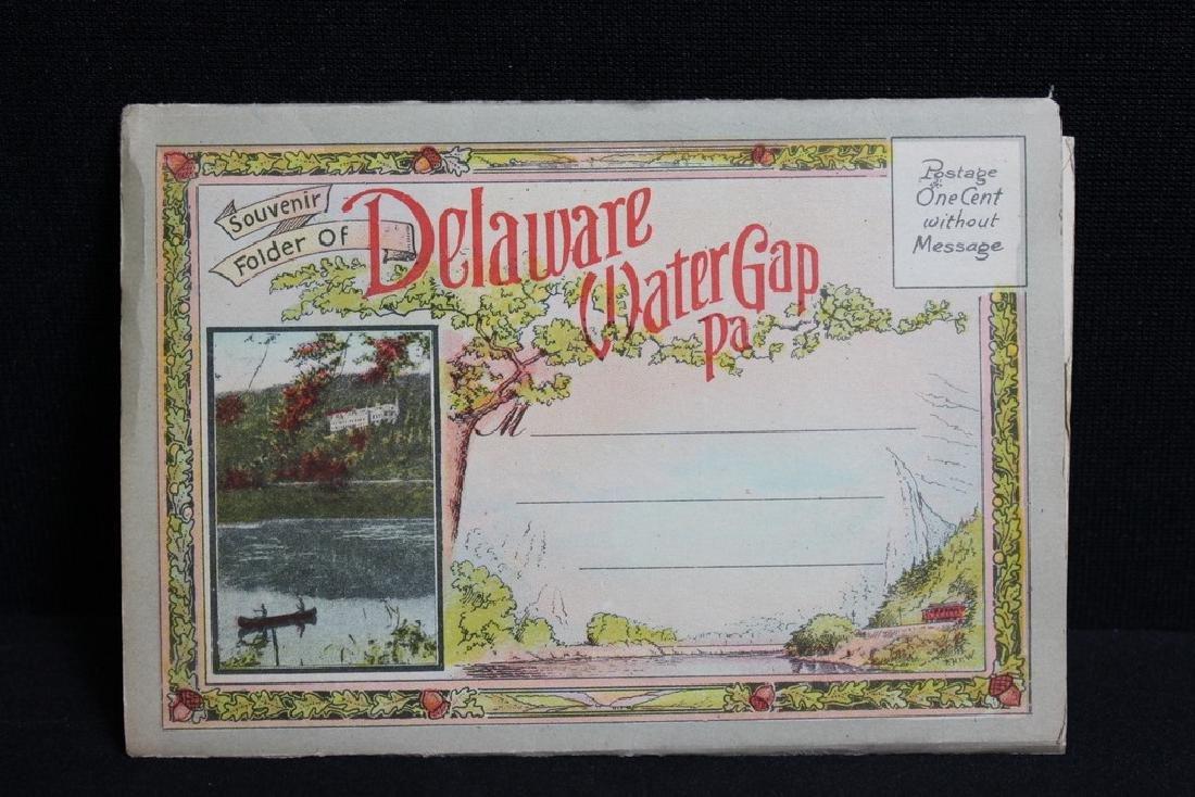 Souvenir Folder of Delaware Water Gap PA