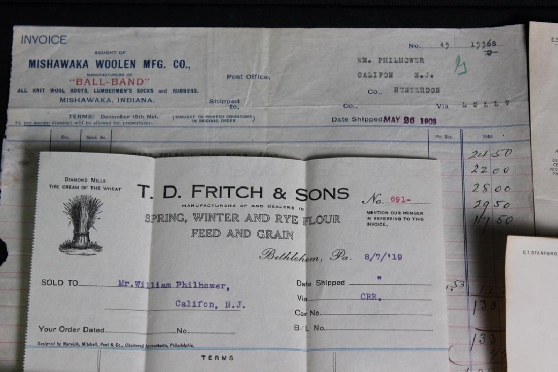 8 Store Receipts 1903-1919 - 2