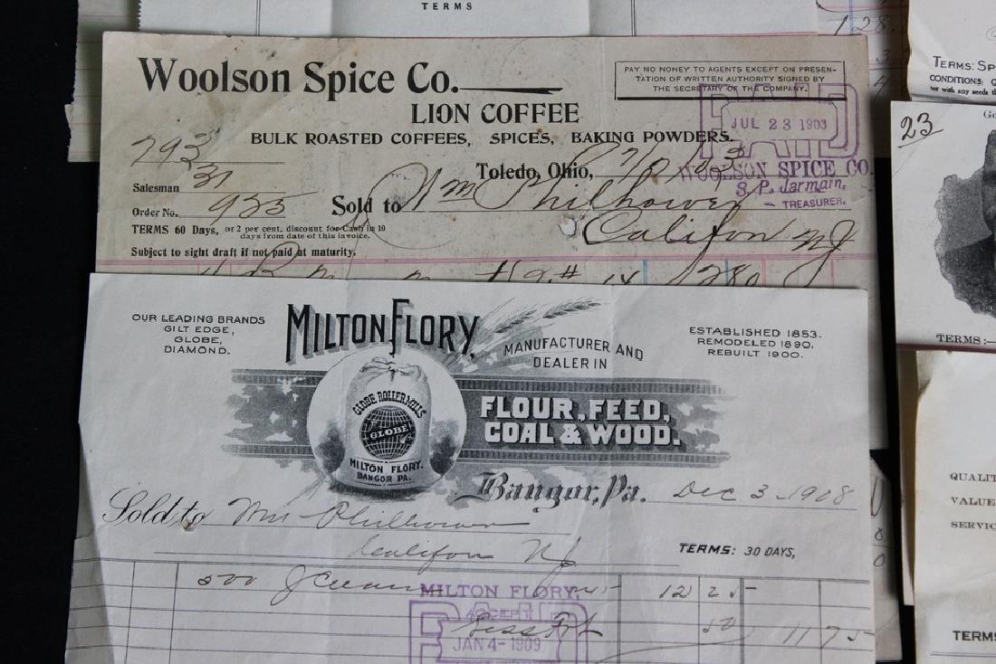 8 Store Receipts 1903-1919 - 4