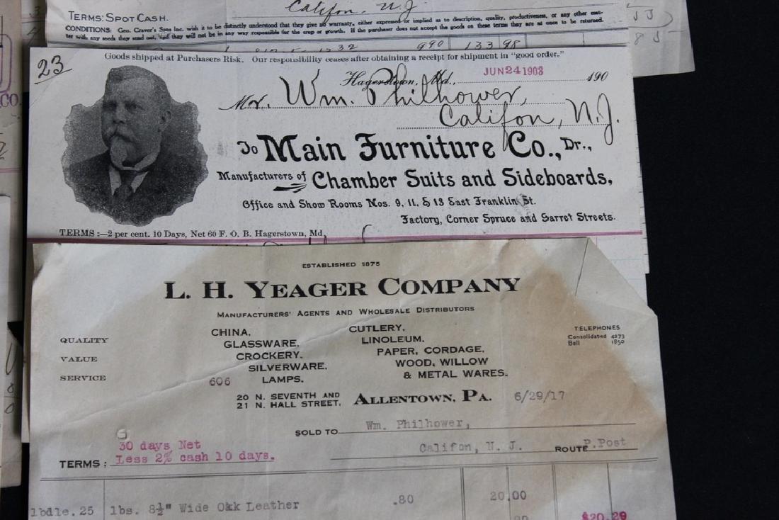 8 Store Receipts 1903-1919 - 5