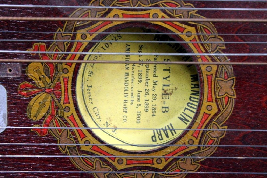 American Madolin Harp in Box Ca. 1900 - 2