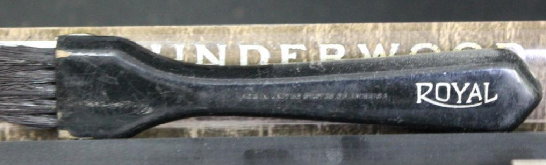 Antique UNDERWOOD Portable 4 Bank Typewriter - 4