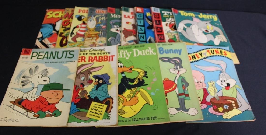 14 Vintage Comic Books