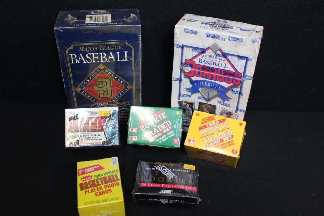Sealed Baseball Special Ed. Cards