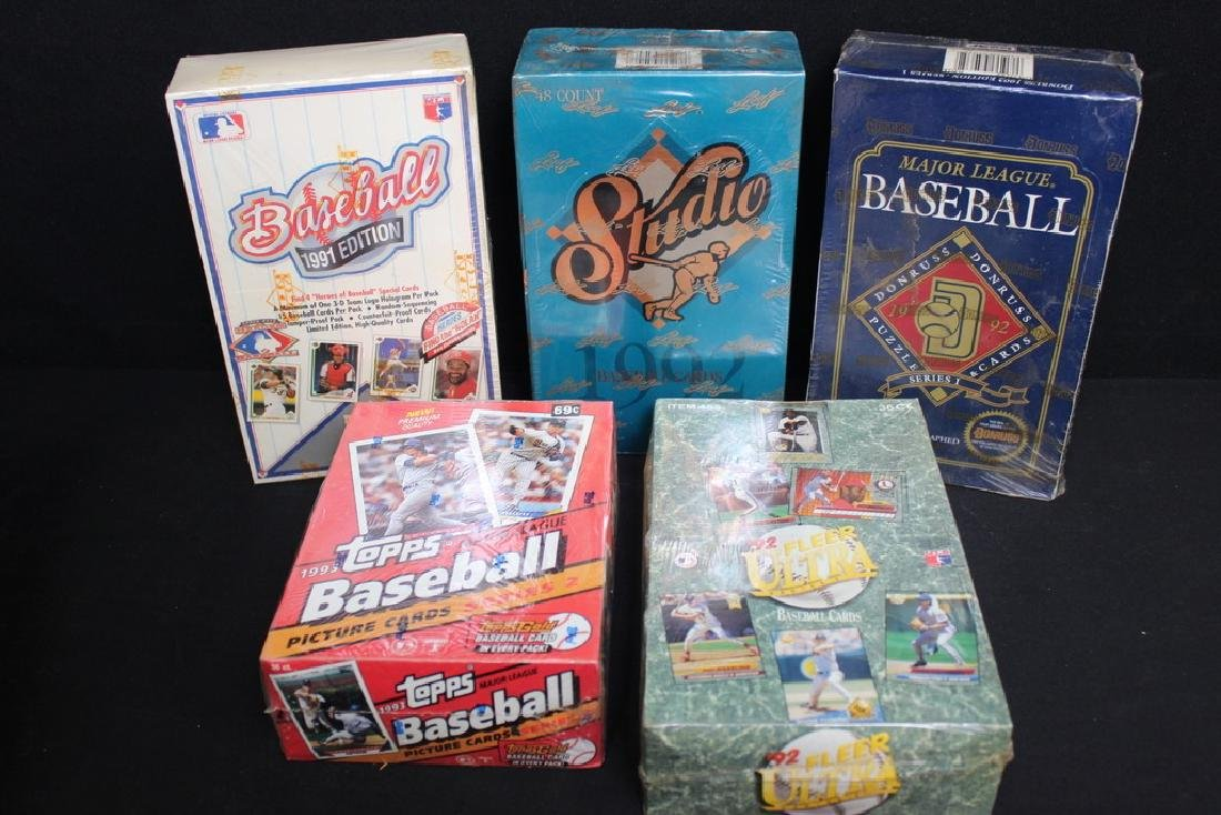 Sealed Baseball Cards Sets