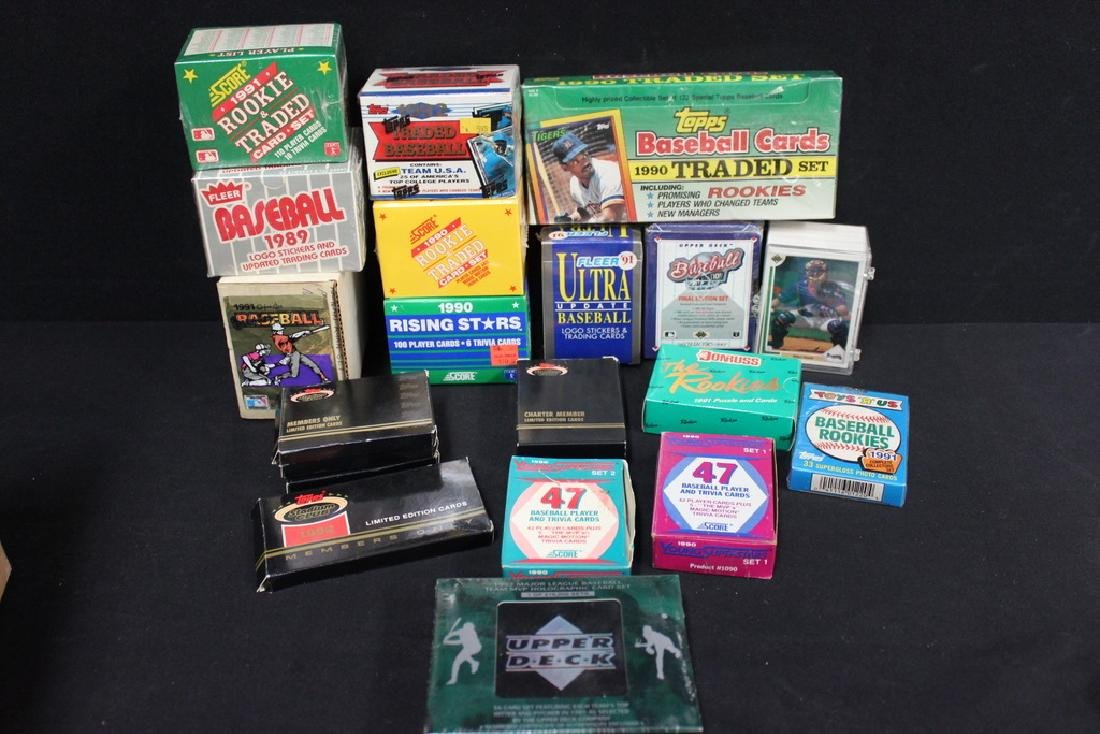 Assorted Baseball Cards