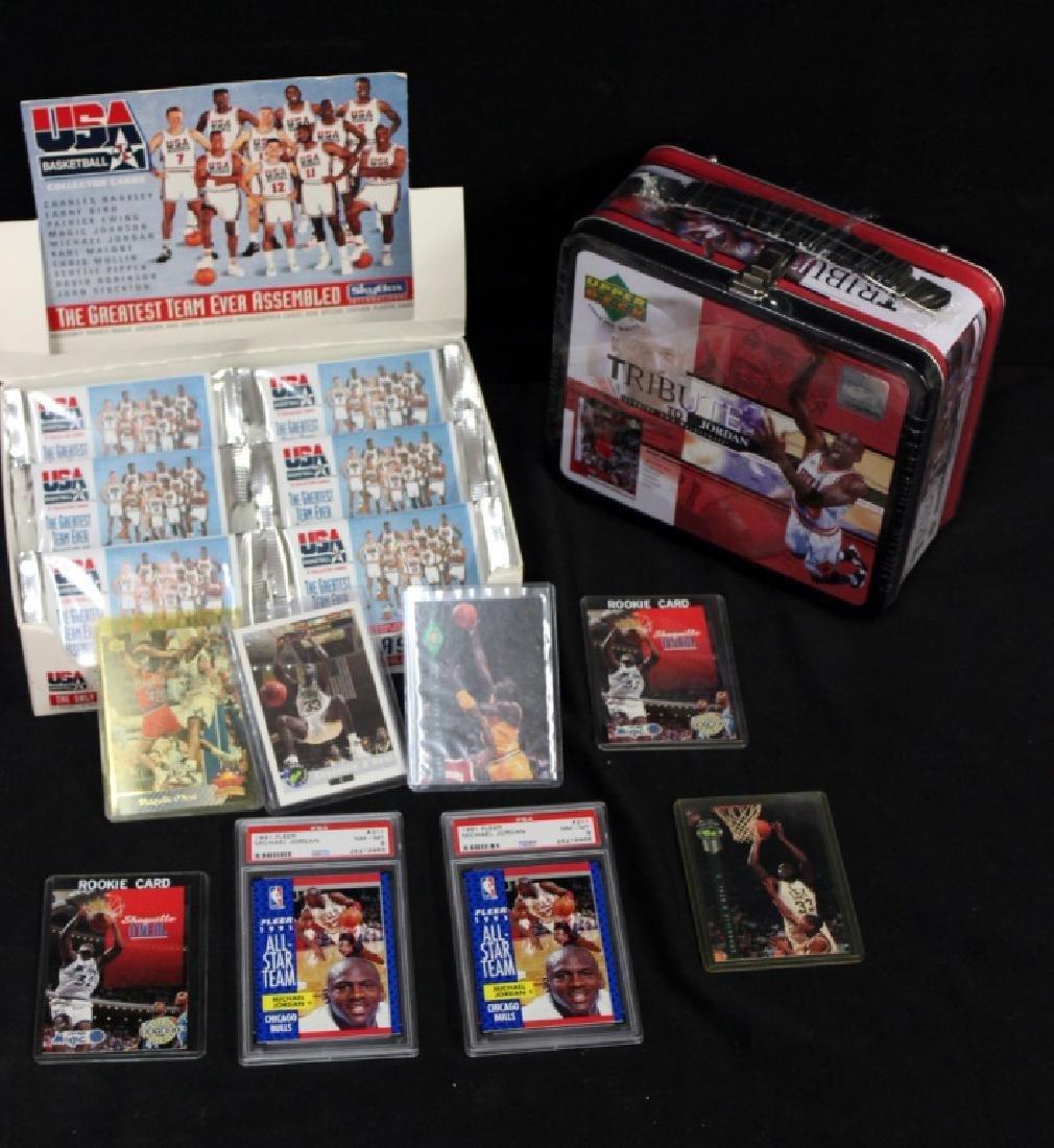 1990's Lot of Basketball Memorabilia