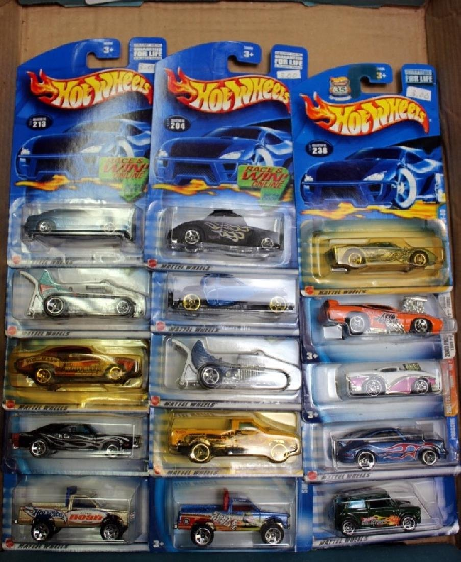 15 NIB Hot Wheels Vehicles