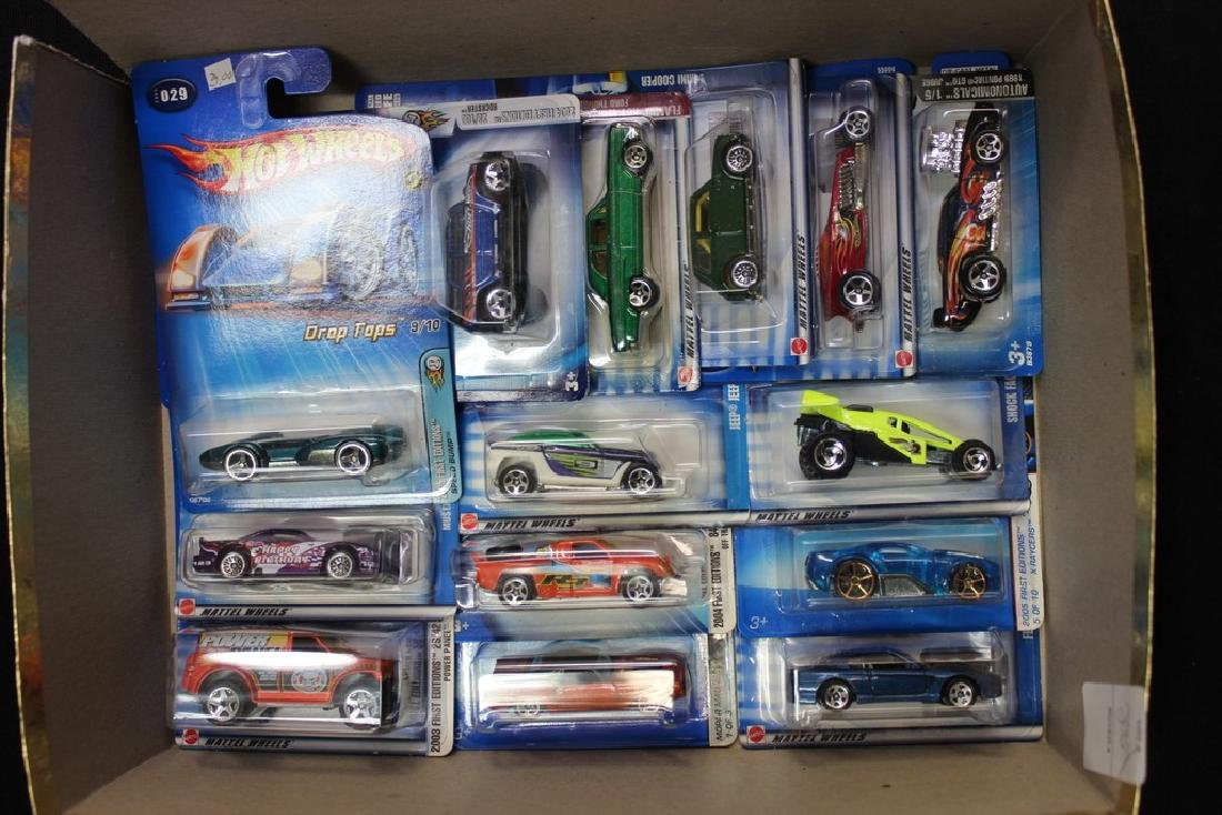 14 BIB Hot Wheels Vehicles