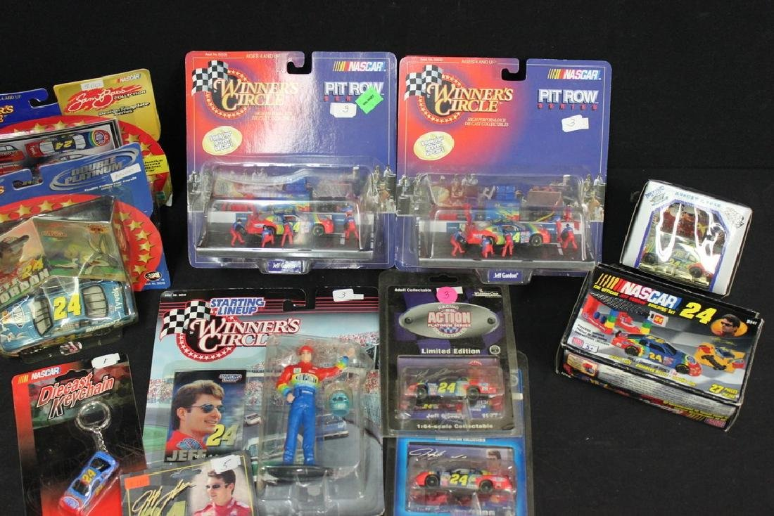12 Jeff Gordon Racing Cars and Accessories