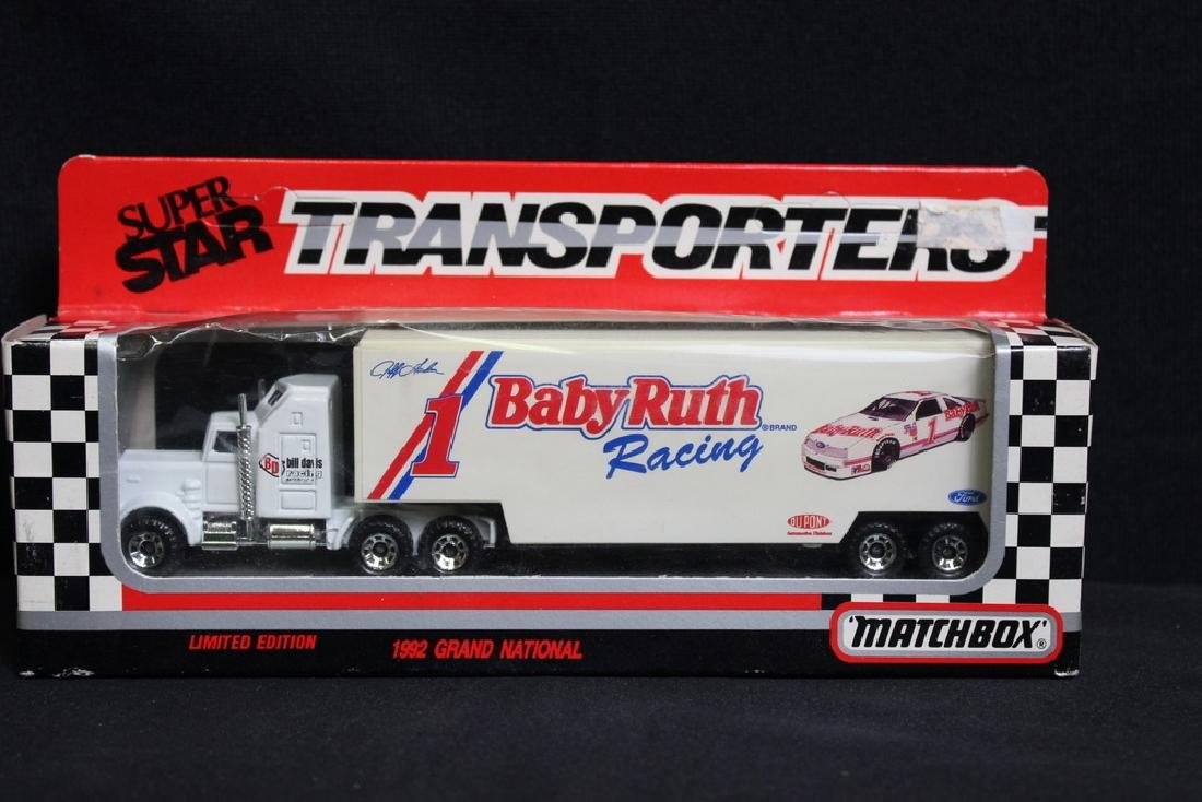 HTF 1992 Baby Ruth Jeff Gordon Hauler
