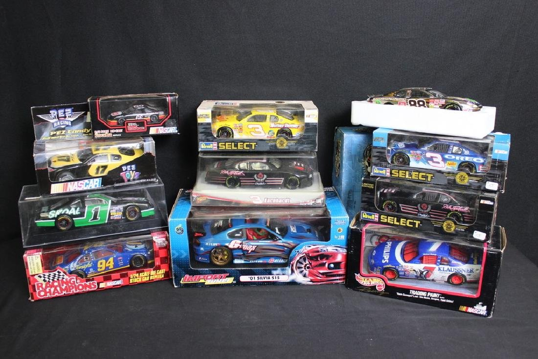 11 NIB Racing Vehicles