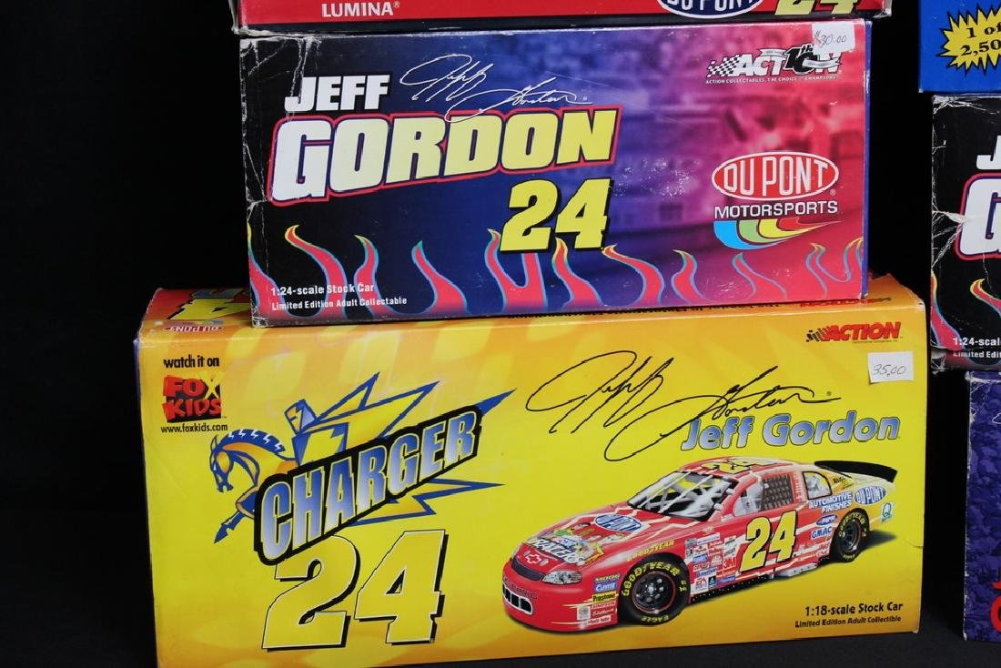9 NIB Jeff Gordon Racing Vehicles - 2