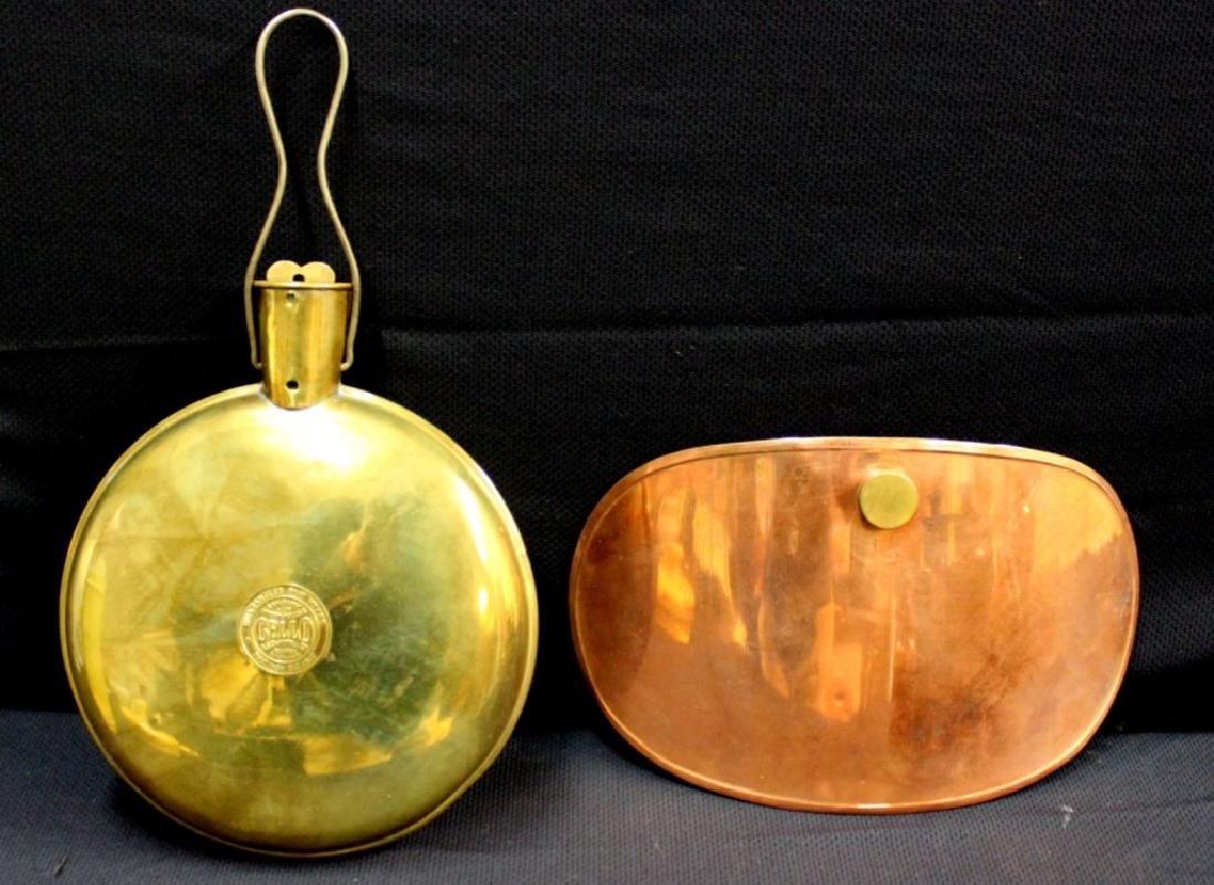 Brass & Copper Water Bottles