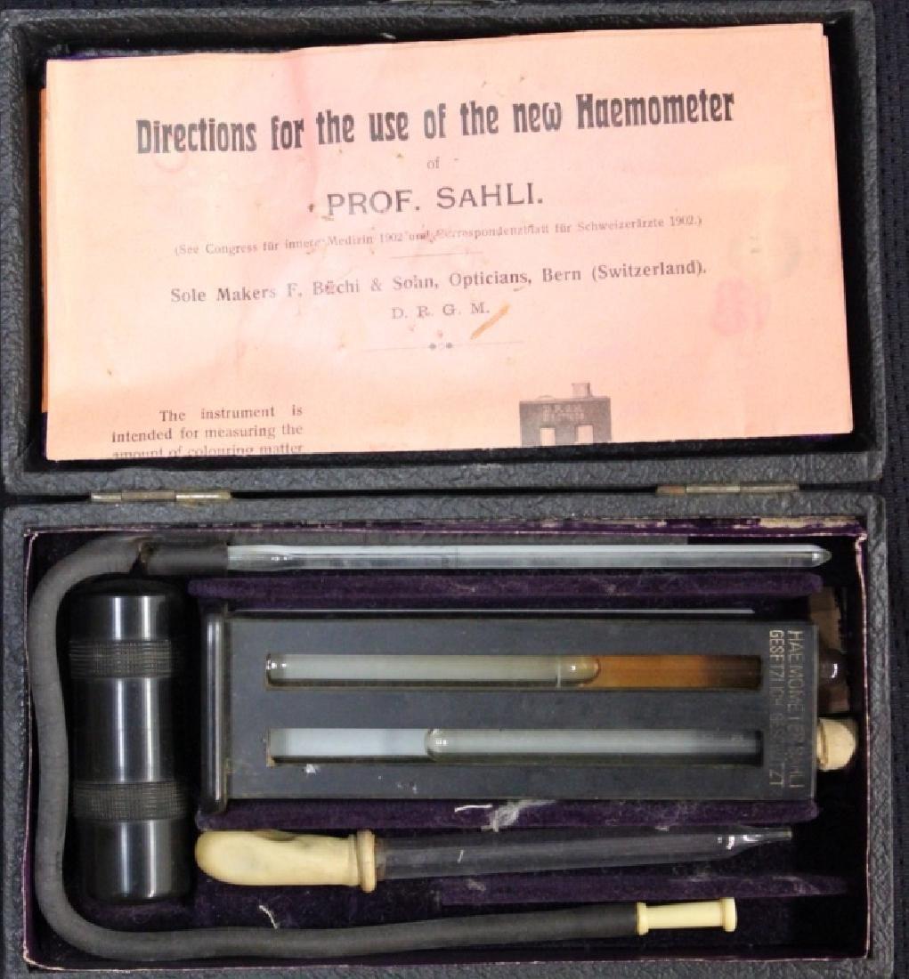 Haemometer of Sahli Haemometer Circa 1902. - 4