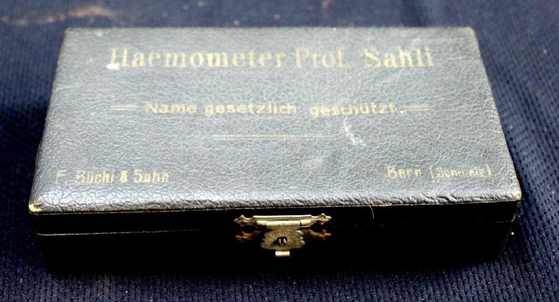 Haemometer of Sahli Haemometer Circa 1902. - 5