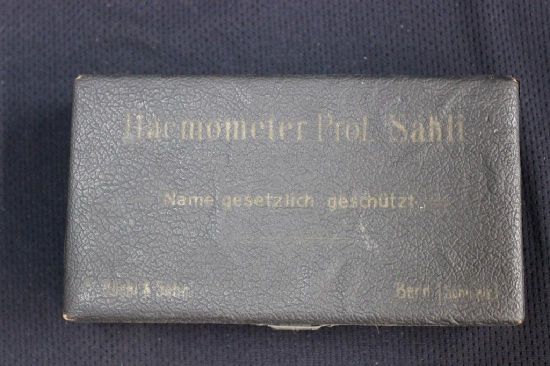 Haemometer of Sahli Haemometer Circa 1902. - 6