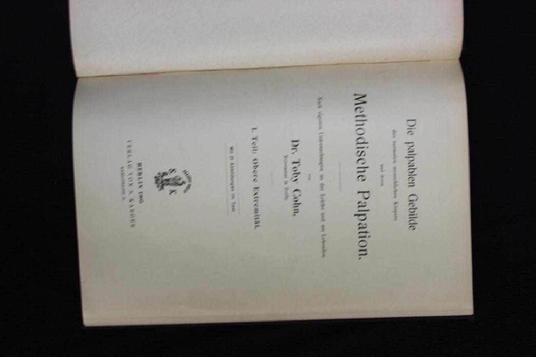 9 Antique Medical Books - 4