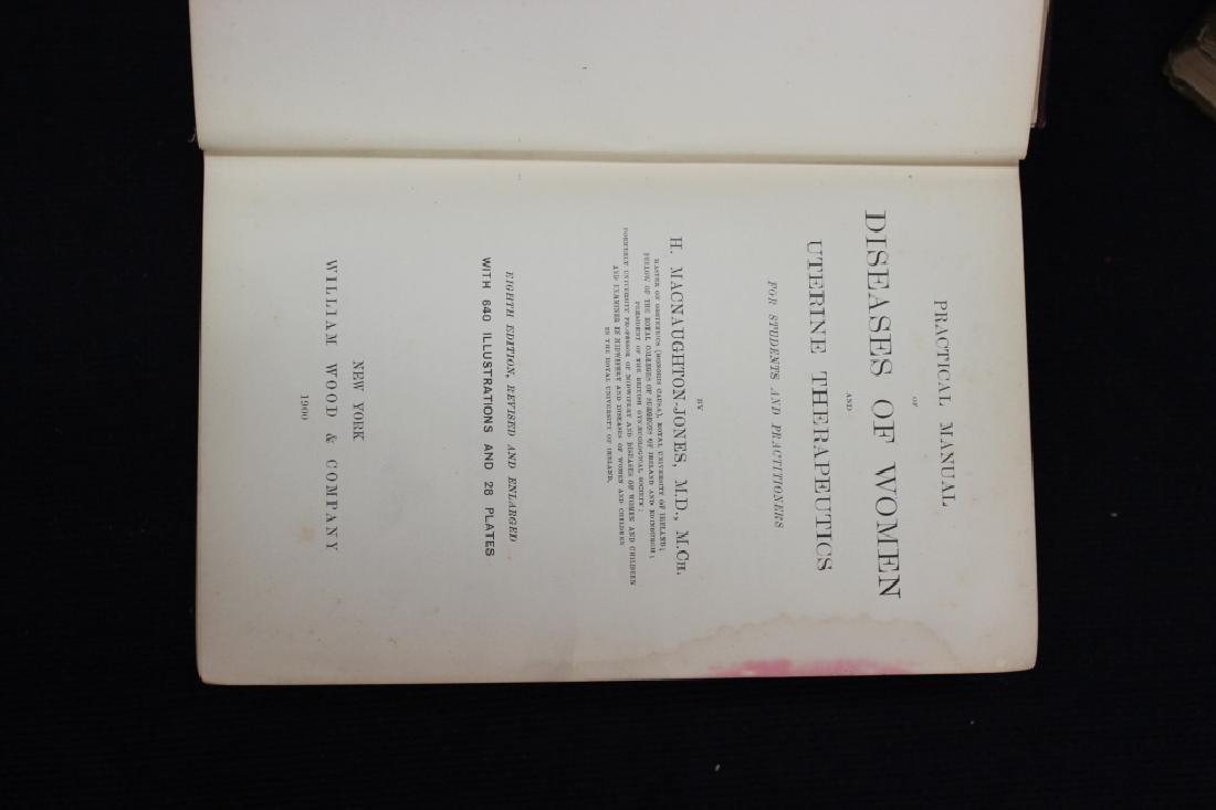 9 Antique Medical Books - 7