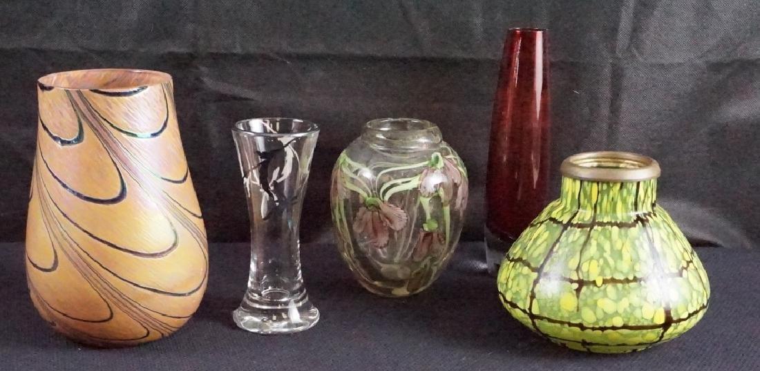 Art Glass (5 Pieces)