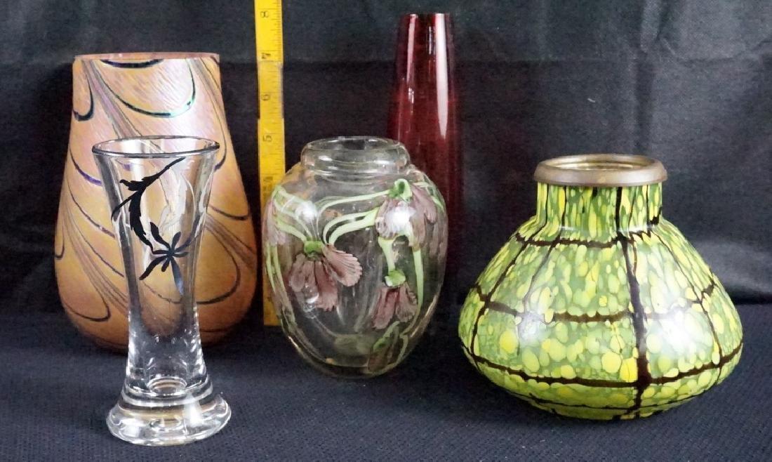 Art Glass (5 Pieces) - 2