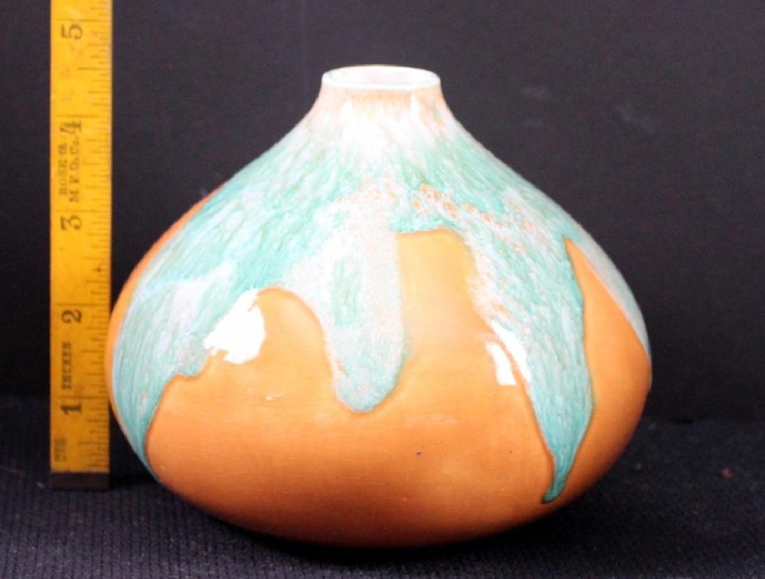 7 Art Glass Czech Vintage Vases - 2