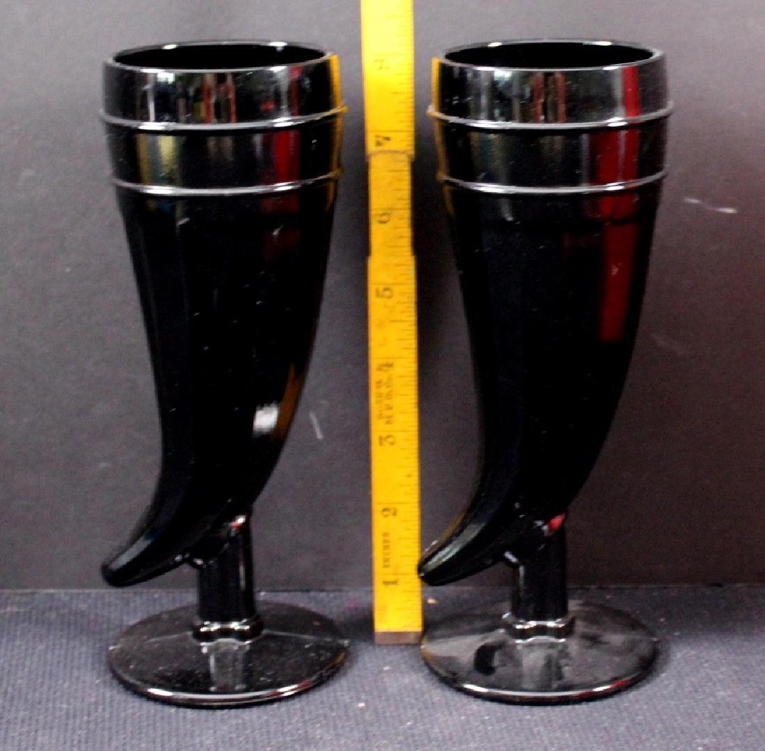 9 Art Glass, Czech Vintage Glassware - 3