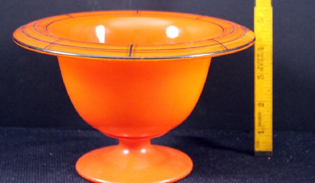 Art Glass Czech Vintage Bowls (5) - 6